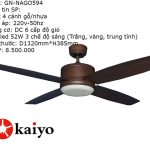 Động cơ quạt trần Kaiyo NAGO-594