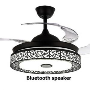 Quạt đèn trần kết nối Bluetooth nghe nhạc