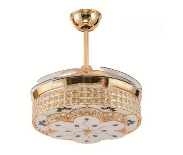 Quạt trần 4 cánh IBCF-B06 là sự kết hợp hoàn hảo giữa quạt mát và đèn chiếu sáng.