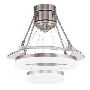 Quạt trần biệt thự IBCF-FS48016 là sự kết hợp hoàn hảo giữa quạt mát và đèn chùm chiếu sáng.