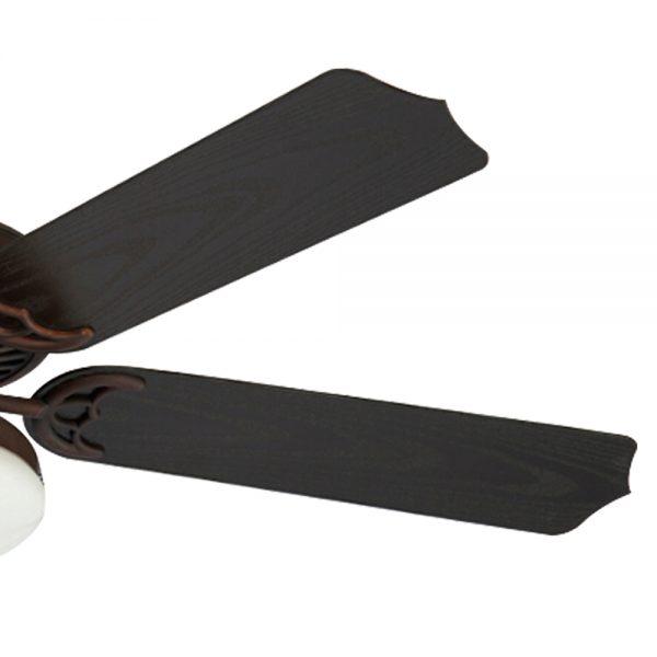Quạt trần cánh gỗ hiện đại