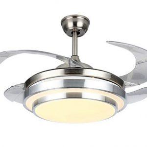 Quạt trần cánh xếp IBCF-A01 là sự kết hợp hoàn hảo giữa quạt mát và đèn chiếu sáng.