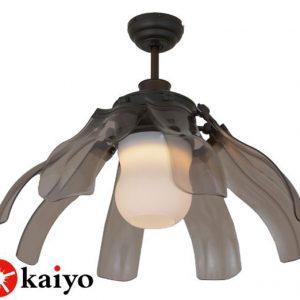 Quạt trần đèn cánh xếp Kaiyo CHIB-107