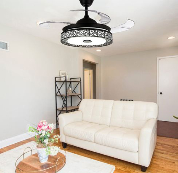Quạt trần đèn chung cư