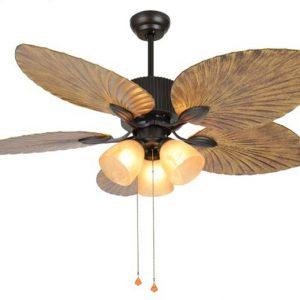Quạt trần đèn trang trí phòng khách DCF-MF521 là sự kết hợp hoàn hảo giữa quạt mát và đèn chiếu sáng.