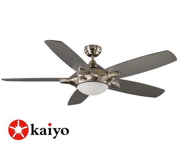 Quạt trần Nhật Bản Kaiyo HOKKA-171 là sự kết hợp hoàn hảo giữa quạt mát và đèn chiếu sáng.