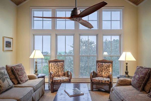 Quạt trần trang trí cho phòng khách