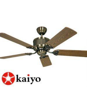Quạt trần trang trí đẹp Kaiyo OKA-181 là sự kết hợp hoàn hảo giữa quạt mát và đèn chiếu sáng.
