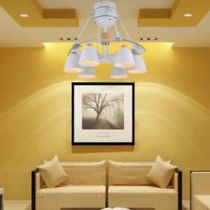 Quạt trần đèn chùm IBCF-FS48001